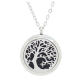 Tree of Creation Diffuser Locket Necklace